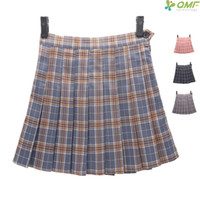 3b78f56fa0e Tartan Design Tennis Skirts Short Leisure School Uniform Plaid Pettiskirt  Sport Kilts Summer Women Check Pattern Mini Skirts. 36% Off
