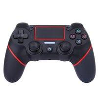 manipulado venda por atacado-6 Axies Controlador de Jogo Gamepads para PS4 Sem Fio Bluetooth Modo Pessoal Jogo Handle com Tela Sensível Ao Toque de Alta QualidadeWireless Bluetooth Perso