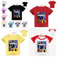 Wholesale wholesale clothes for men - 76 colors Summer Kids T-shirt Fortnite Battle Royale Comfortable Cotton Short Sleeve T Shirt for Boys Girls Children Clothing 36pcs MMA238