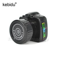 camcorder web-kamera großhandel-Kebidu Mini Cmos Super Mini Videokamera Ultra Kleine Tasche 720 * 480 DV DVR Camcorder Recorder Web Cam 720P JPG Po