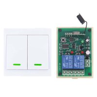 Wholesale wireless toggle switch for sale - Group buy DC V V CH CH RF Wireless Remote Control Switch Receiver Wall Panel Transmitter MHz Toggle