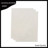 Wholesale usa papers - 216*279mm printinng paper 75% cotton 25% linen pass counterfeit pen test paper high quality hot sale in USA