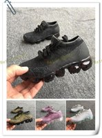 Wholesale green infant shoes - 2018 hot brand Vapormax plus Children running Shoes Infant Boys and Girls kids chaussures Casual designer Sneakers Zapatillas 28-35