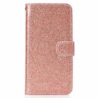 billetera de purpurina al por mayor-Para Redmi 5 Note 5A Bling Glitter Billetera de cuero para Iphone XR XS MAX X 10 8 7 S10 S10e Sparkly Luxury Flip Cover Sparkle Shiny Correa