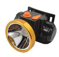 lámparas led de largo alcance al por mayor-3323 Batería de litio Faros LED 15W Impermeable al aire libre Sonda de larga duración recargable Minería de luz Caza Pesca Lectura de senderismo.