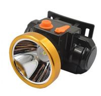 mineur de phare achat en gros de-3323 batterie au lithium Lampe frontale LED 15W extérieure étanche rechargeable longue portée sonde lampe de mineur chasse pêche randonnée lecture.
