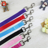Wholesale Width cm Long cm Nylon Dog Leashes Pet Puppy Training Straps colorful Dogs Lead Rope Belt Leash