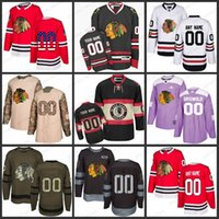 88 jersey de hockey para jóvenes al por mayor-Custom Hombres Mujeres Jóvenes Chicago Blackhawks 2 Duncan Keith 19 Jonathan Toews 88 Patrick Kane 81 Marian Hossa 7 Brent Seabrook Jerseys S-3XL