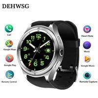 Wholesale gps processor resale online - Smart watch F10 MTK speed core GHz high speed processor GB GB WiFi GPS smartwatch ip67 waterproof PK X200