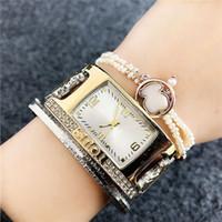 квадратные часы из стразы оптовых-relojes Montre браслет люксовый бренд модельер алмазные часы дамы платье площадь золотые наручные часы женщины горный хрусталь aaa часы Часы Часы