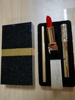 Wholesale color brand eyeliners online - Hot Sale High Quality Famous Luxury Brand Makeup Set Kollection Lipstick Mascara Eyeliner Cosmetic in Kit