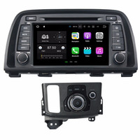 Wholesale quad core 5.7 inch phone resale online - 2GB RAM Quad Core quot Android Car Audio DVD Player for Mazda Car DVD CX CX With Radio GPS WIFI Bluetooth GB ROM DVR