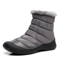 Wholesale womens waterproof boots - Women Winter Snow Shoes women Boot Lightweight Ankle Boots Warm Waterproof womens Rain Boots 2017 New Furry Female