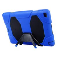 Wholesale galaxy tab military case online - For ipad mini SAMSUNG Galaxy tab A E P3200 T280 T230 T330 T350 Military Extreme Heavy Duty TPU PC Shockproof silicone CASE