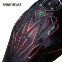 motocicleta tanque de gás protetores venda por atacado-Motocicleta Adesivos Decalques 3D Motocross Gasolina Etiqueta Do Tanque de Combustível Adesivo de Moto Peças Acessórios Protector Pad Capa Decoração
