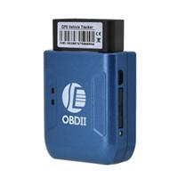 dispositivo antirrobo de alarma de coche al por mayor-OBD II SEGUIDOR GPS Vehículo de camioneta en tiempo real Vehículo de seguimiento GSM GPRS Dispositivo de alarma antirrobo de vibración Mini