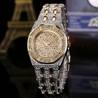 ingrosso la migliore marca orologi per le donne-Top Designer Brand Luxury Women Watches Prodotti più venduti Diamond Watch Waterproof Women Gold Watch 03