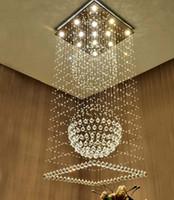 15w führte spiegel großhandel-Hall Deckenleuchte LED 3 Helligkeit K9 Kristall und Chrom Spiegel Edelstahl Kronleuchter Deckenleuchte Kronleuchter LED Birne und ...