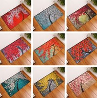 Wholesale pads for rugs - High Quality Door mats Carpet Area Rugs Floor Pad for Indoor Bathroom Carpets 20pcs lot T2I340