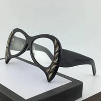 ingrosso occhiali stampati-0143 Occhiali da sole The Latest Women Special Design Squisita stampa Frame Fashion Avant-garde Style Occhiali di protezione UV di alta qualità con scatola