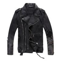 Wholesale clothe for sale - Balmain M XL Men s Denim Jacket Best Quality Fashion Jeans Jackets Slim Casual Streetwear Vintage Mens Jean Clothing Size M XL