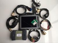 mb estrela computador para benz venda por atacado-MB estrela Multiplexer C3 2014.12 M-ercedes Star Diagnostic X-entrada D-como IX104 (i7 4GB) computador tablet