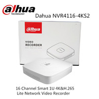 Wholesale udp dns - Dahua NVR4116-4KS2 16 Channel Smart 1U 4K&H.265 Lite Network Video Recorder 8MP 2018 Hot Sale English version