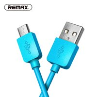 Wholesale Usb Otg Sync Cable - REMAX Micro USB Data Cable Type C data cable 2A Fast Charging USB Cable 1m Sync TPE Charger for Samsung xiaomi huawei Android
