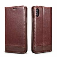 caso x9 al por mayor-Estuche para Samsung S9 Note 9 S8 Flip funda de cuero para Samsung X9 MAX 7 8 Plus