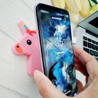 беспроводная конструкция зарядного устройства оптовых-Симпатичный дизайн рекламный подарок единорог беспроводной QI зарядное устройство коврик единорог мультфильм силиконовое беспроводное зарядное устройство для Iphone Samsung