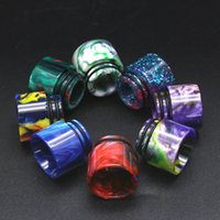 Wholesale resins for resale online - 20 Styles Resin Drip Tips Epoxy Mouthpeice Wire Bore Suck Tip for TFV12 Prince and TFV8 X Big Baby Crown Atomizer FJ746