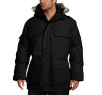 Wholesale Natural Goose Feathers - Men's Outdoor Sports High Cold Resistance Thermal Down Jacket CA Men's 90% White Goose Feather Filled With Waterproof Outdoor Down Jacket