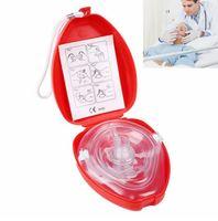kit de emergencia de supervivencia al por mayor-Primeros auxilios profesionales CPR Mascarilla de respiración Proteger a los reanimadores Respiración artificial Reutilizable con herramientas de válvula de una sola vía Kit de supervivencia de emergencia