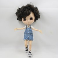 Wholesale inflatable male - blythe Toy Gift male blyth doll nude doll without makeup white skin face boy body neo bjd