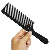 friseurkämme großhandel-Schwarz Friseur Friseur Salon Carbon Kämme Hitzebeständiges Haar Schneidwerkzeug Schneiden Kamm Carbon Antistatische Kamm