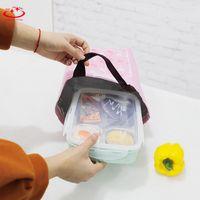 wunderbare tasche großhandel-1 STÜCK Wunderbare Aufbewahrungstasche Schwarz Wasserdicht Oxford Strand Lunchpaket Picknick Für Frauen kid Männer Aufbewahrungstasche