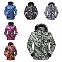 Wholesale outdoor tactical jacket online - Outdoor Camouflage Jackets Soft Shell Coat couple Climbing Riding breathable fleece hoodies Warm Tactical Jacket home clothing GGA1029