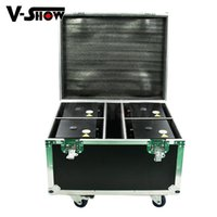 Wholesale Electric Firework - free shipping Flight case hold4 4pcs electric cold spark firework machine Remote and DMX Control +8pcs bag for wedding decoration