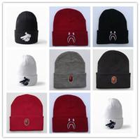 Bonnets aape en gros japonais marque Multicolor outillage laine Bonnet  hommes / femmes tricoter chapeau étudiant ski chapeau skateboard hip hop