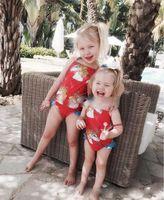 Wholesale Bikini Top Xs - Baby Girls Swimwear Summer Kids Unicorns One Piece Swimsuit Children Bathing Suit Kids Girls Bikini Swim Suit Bathers top quality