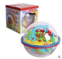 Wholesale Puzzle Maze Toys - Newest Design 3D Maze Ball Intellect Ball Children Educational Toys Baby Puzzle Toy random color