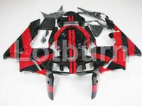 honda rr plastics großhandel-Karosserie Moto Verkleidungen passend für Honda CBR600RR CBR600 CBR 600 RR 2005 2006 F5 Verkleidungssatz aus hochwertigem ABS-Kunststoff nach Maß A600