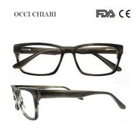 e3d0242eb451f OCCI CHIARI Moda Óculos Para Homens E Mulheres Designer De Marca Prescrição  Lente Nerd Médica Óptica Óculos de Armação W-CASOLA