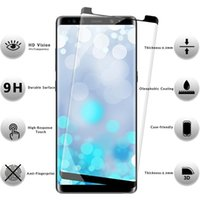Wholesale free phone cases for android online – custom For android Case Friendly d Curved Tempered Glass Case Version Phone Screen Protector