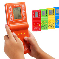 Wholesale video game Tetris game console Brick Hand Brick Tetris Game Toy hot sale Drop Shipping