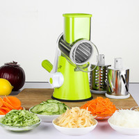 Wholesale fda manual - Manual Vegetable Fruit Cutter Slicer Potato Carrot Carrot Slicer Cheese Grater Stainless Steel Blades Kitchen Tool HH7-347