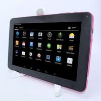 g pc jeu achat en gros de-ROM haute performance 9''A33 Quad-Core 8 Go ROM WIFI Bluetooth Prend en charge les jeux 3D avec le G-sensor Tablet PC