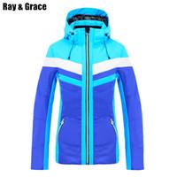 professional jackets women Canada - RAY GRACE Ski Jacket Winter Women  Snowboard Sports Clothing Professional Sportswear 5761471b6