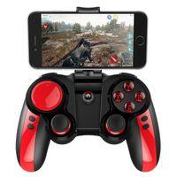 ipega bluetooth al por mayor-iPEGA PG - 9089 Joystick Controlador de juego inalámbrico Bluetooth Gamepad para iOS / Android / PC con clip para teléfono inteligente