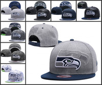 Wholesale new fashion style American football Seattle snapback hat for men women hiphop Seahawks adjustable caps bone gorra